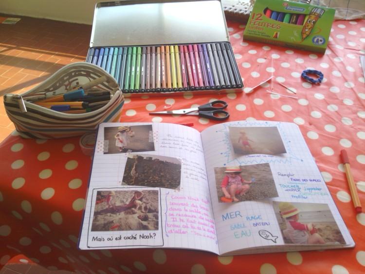 cahier de vacances souvenirs tinylasouris